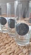 Mundgeblasen kristallglas 6 szklanek głowy okaz