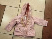 różowa kurtka płaszczyk RESERVED 92