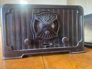 """Radio Telefunken 1931 r. 340W """"Cat Head"""" Antyk"""