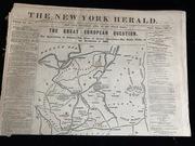 Gazeta NEW YORK HERALD 1863 powstanie listo POLSKA