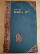 Stielers Hand Atlas 1908r. piękne dokładne mapy