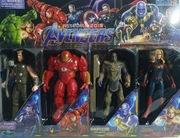 Figurki Avengers ruchome LED 4 szt. Duże