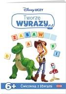 Disney Uczy Toy Story 4 Tworzę wyrazy 6+ Praca zbiorowa