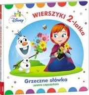 Disney Maluch Wierszyki 2-latka Grzeczne słówka Joanna Łagodzińska
