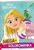 Disney Księżniczka. Megakolorowanka Praca zbiorowa