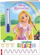 Disney Księżniczka Rysujemy szlaczki Praca zbiorowa