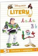 Disney Uczy Toy Story Litery 5 +Ćwicz z naklejk Praca zbiorowa
