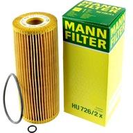 MANN FILTER FILTR OLEJU HU 726/2x AUDI VW 1.9TDI