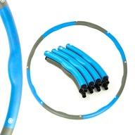 Hula hop z wypustkami Thunder 95 cm niebieski