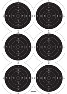 Tarcze strzeleckie TS-2 x 6 (Psp x 6) 100 szt.