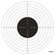 Tarcze strzeleckie Psp Pistolet sportowy 100szt