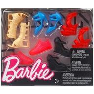Mattel BARBIE - Modne BUTY dla lalki 5 par FCR93