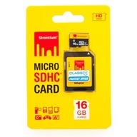 KARTA PAMIĘCI microSDHC 16GB STRONTIUM NITRO 433X