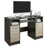 Biurko komputerowe stolik 120cm wenge sonoma N11