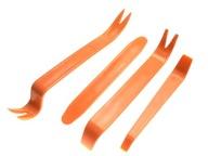 4 x Klucze narzędzia ściągacze demontaż tapicerki