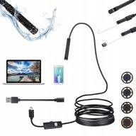 ENDOSKOP KAMERA INSPEKCYJNA HD ANDROID USB SZTYWNY