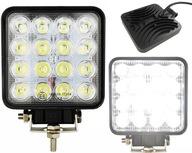 Lampa 16 LED halogen roboczy szperacz 48W 12V 24V
