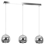NOWOŚĆ KULE CHROM MODERN DESIGN BALL 3 EMIBIG LED