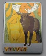 Magnes na lodówkę Szwecja ŁOŚ