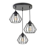 LAMPA WISZĄCA SUFITOWA ŻYRANDOL BRYLANT LED 724-E3