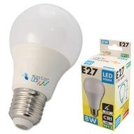 Żarówka LED dioda E27 10 SMD 2835 8W 230V 3 BARWY