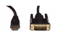 NOWY Kabel przewód HDMI - DVI 1,5M