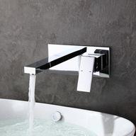 Bateria umywalkowa podtynkowa Chrom Homelody