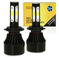 Żarówki LED H7 S4 360° COB 80W 16000lm 4-STRONNE