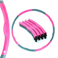 Hula hop z wypustkami Thunder 95 cm różowy