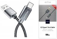 Kabel ROCK Ładowarka USB-C SAMSUNG HUAWEI XIAOMI