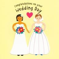 Kartka 3D z kopertą PRIDE Gratulacje Ślub LGBT (L)