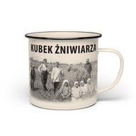 Emaliowany Kubek Żniwiarza Dramiński PL 0,6L