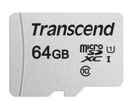 Karta pamięci microSDXC Transcend 64GB CL10 V30
