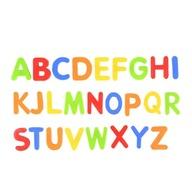 Magnetyczne LITERY literki alfabet lodówkę tablic