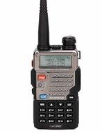 BAOFENG UV-5R E RADIO RĘCZNE DUAL BAND VHF/UHF 5W