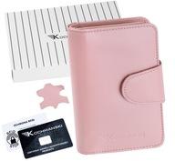 KOCHMANSKI portfel damski skórzany mały RFID