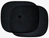 Rolety samochodowe Car Comfort 2 szt. czarne