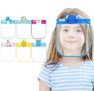 6szt Regulowana przyłbica ochronna dla dziecka
