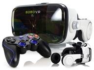 Okulary wirtualnej rzeczywistości+słuchawki+Pad BT