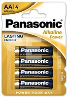 Bateria alkaliczna Panasonic LR6 AA 4 sztuki