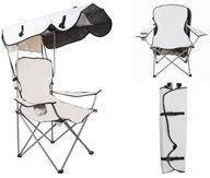 Krzesło Wędkarskie Kempingowe Fotel z Daszkiem