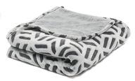 Koc Multidecor 120x160 cm biało-czarny
