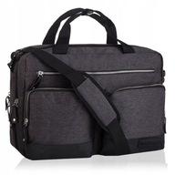 BETLEWSKI torba na laptopa 15,6 duża męska ramię