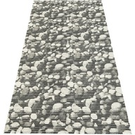 Mata łazienkowa uniwersalna PCV 65x130 cm kamienie