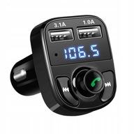 ŁADOWARKA TRANSMITER FM BLUETOOTH MP3 2xUSB