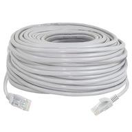 Kabel Sieciowy Lan Ethernet Skrętka Gold RJ45 30m