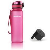 Butelka filtrująca bidon Aquaphor City 0,5L różowa