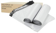 Foliopaki foliopak kurierskie, A3 310x420 50szt