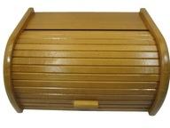 Chlebak drewniany, pojemnik bukowy, produkt polski