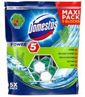 Domestos Maxi Power 5 zawieszka do WC Pine 5 sztuk